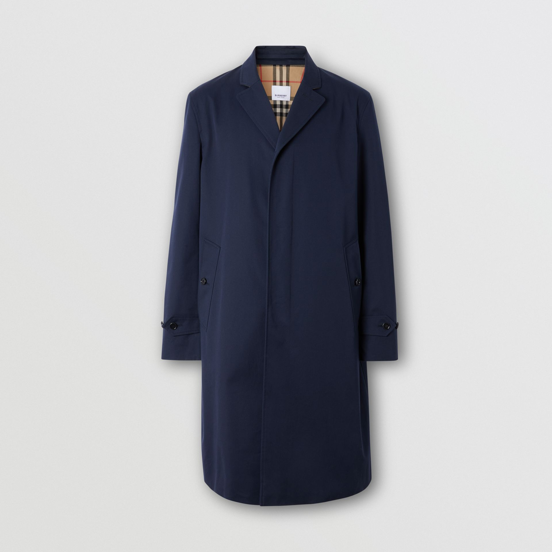 Cotton Gabardine Car Coat - Men | Burberry Singapore - gallery image 3