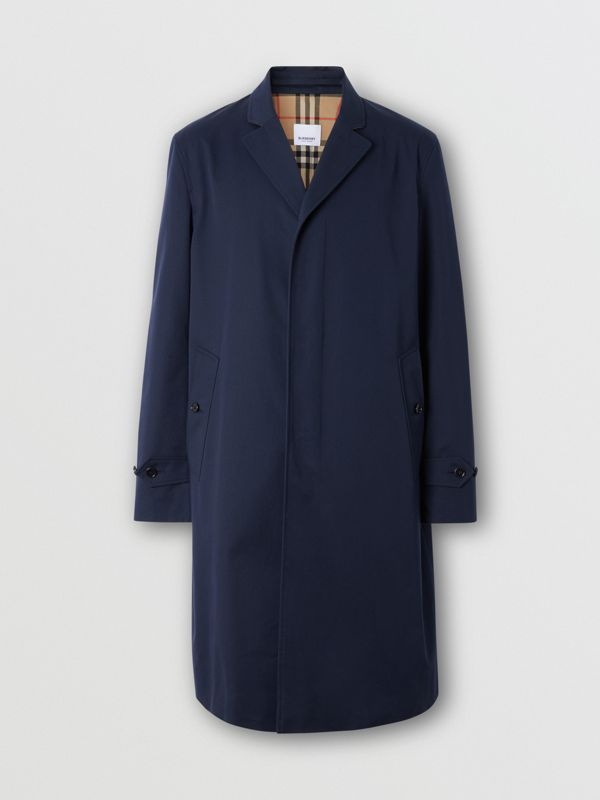 Cotton Gabardine Car Coat - Men | Burberry Singapore - cell image 3