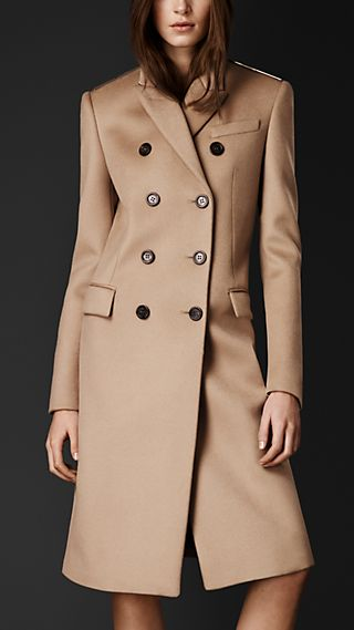 Bonded Cashmere Chesterfield Coat