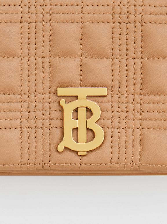 Mini Quilted Lambskin Lola Bag - Women | Burberry - cell image 1