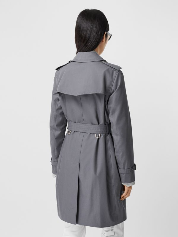 The Mid-length Kensington Heritage Trench Coat in Grey - Women | Burberry Canada - cell image 2
