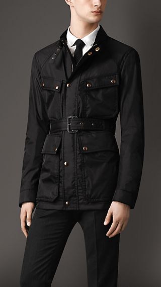Coated Nylon Field Jacket