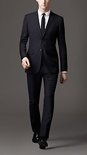 Modern Fit Wool Linen Suit