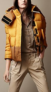 Sport Collection Colour Block Puffer Jacket