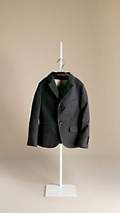 Cotton Gabardine Blazer