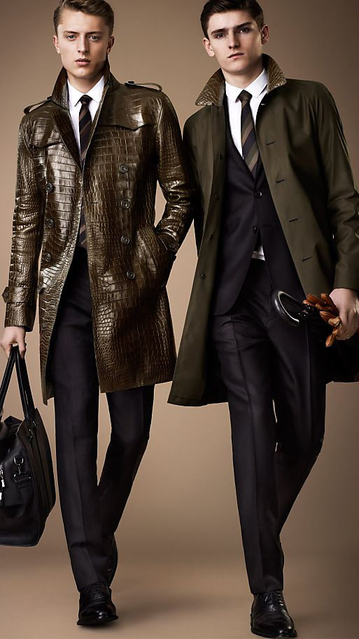 SHOP MEN'S TRENCH COATS
