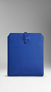 Colour Coated London Leather iPad Case