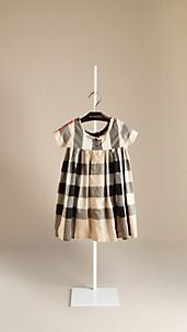 Check Cotton Dress
