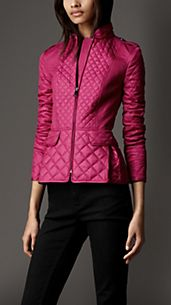 Cinched Waist Multi-Quilt Jacket