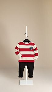 Rugby Stripe Cotton T-Shirt