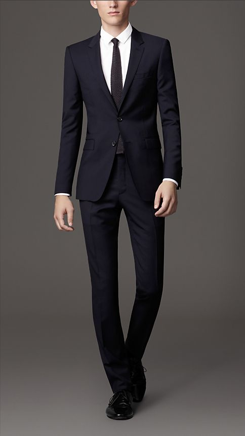 Sale alerts for Burberry Slim Fit Virgin Wool Suit - Covvet