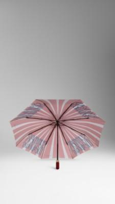 手绘伞简单图案设计
