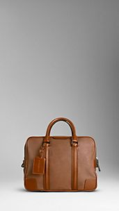 Small London Leather Holdall