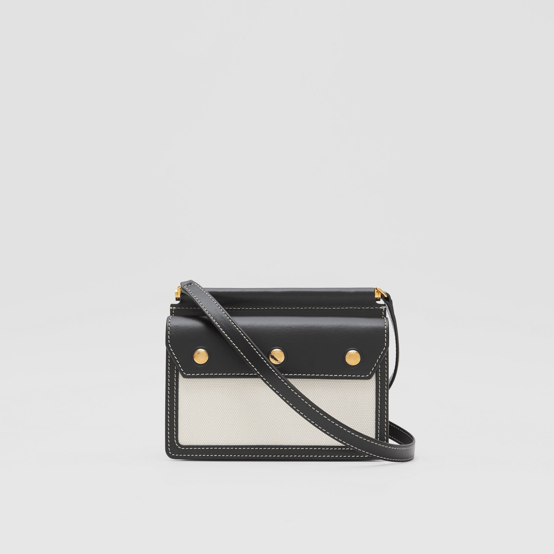 Mini Horseferry Print Title Bag with Pocket Detail - Women | Burberry United States - gallery image 5