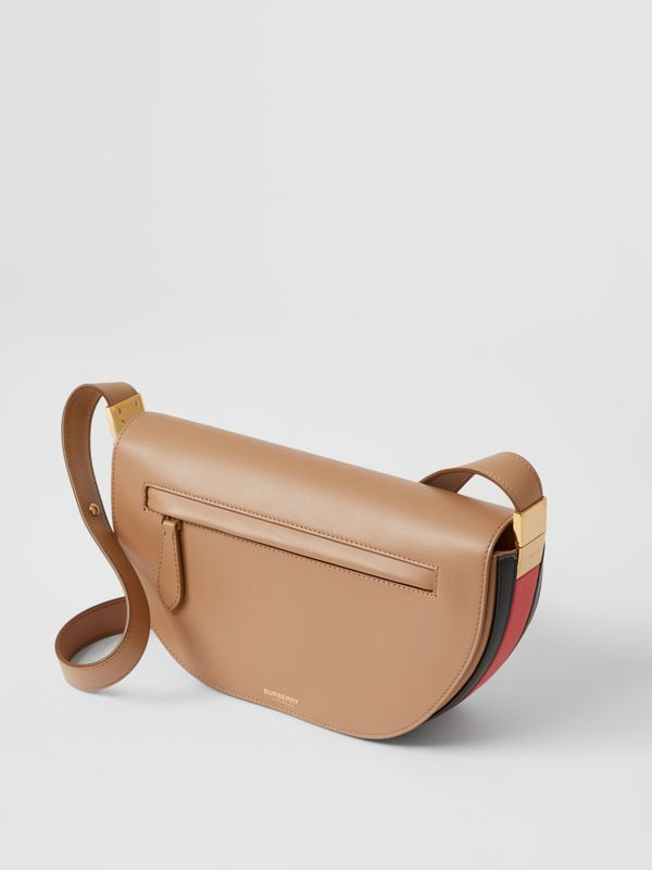 Small Leather Olympia Bag in Camel - Women | Burberry - cell image 3