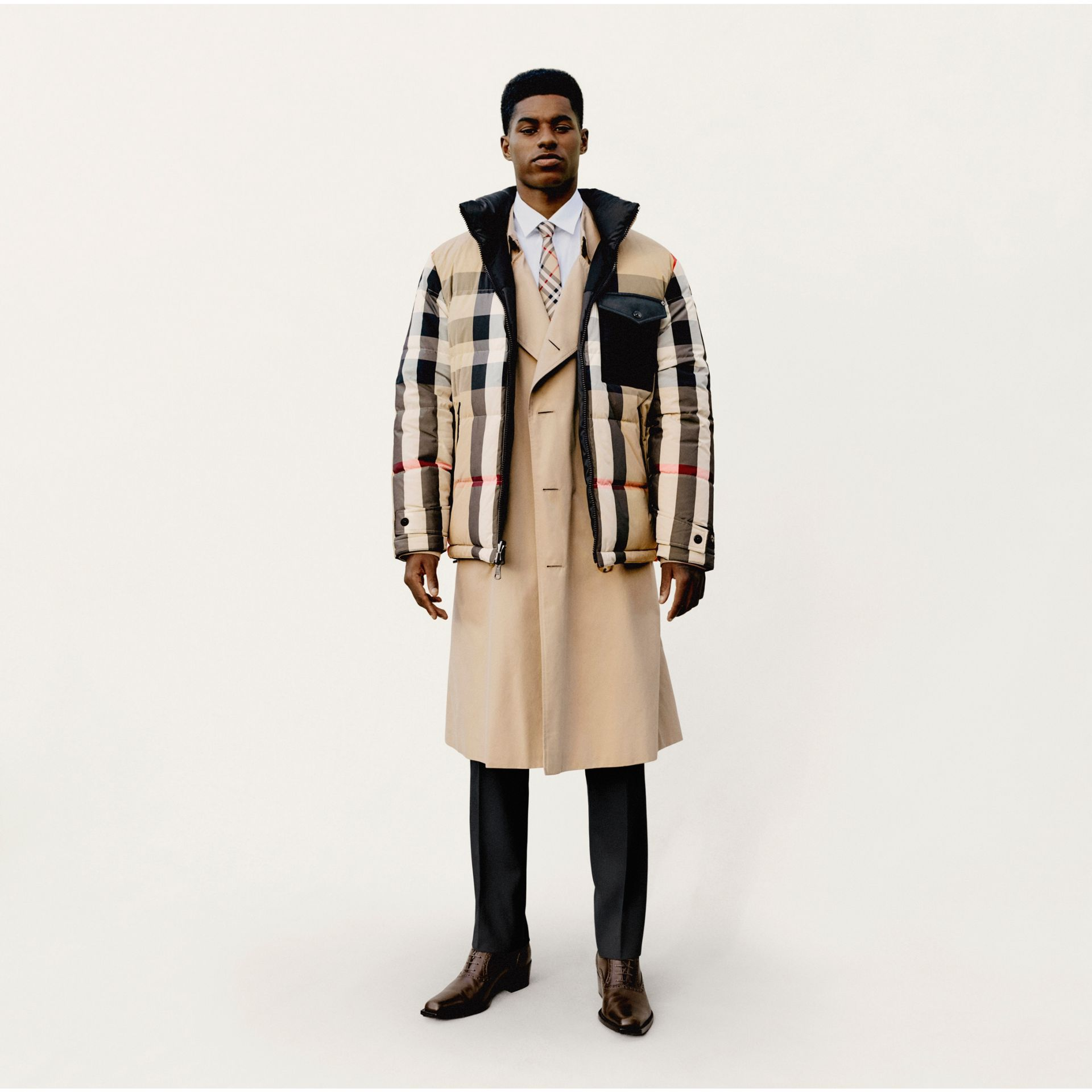 The Westminster Heritage Trench Coat in Honey - Men | Burberry - gallery image 9