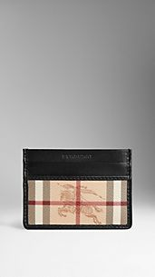 Haymarket Check Card Case