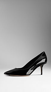 Patent Leather Wide Fit Pumps