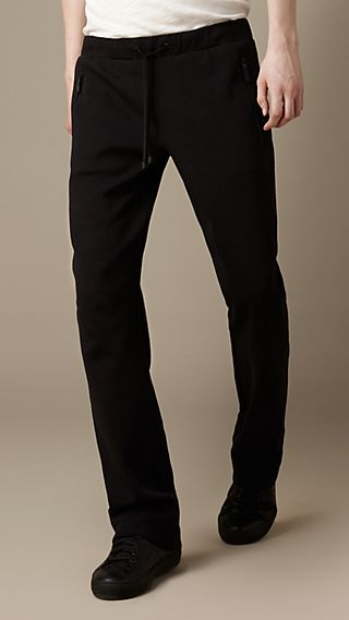 Cotton Jersey Sports Trousers