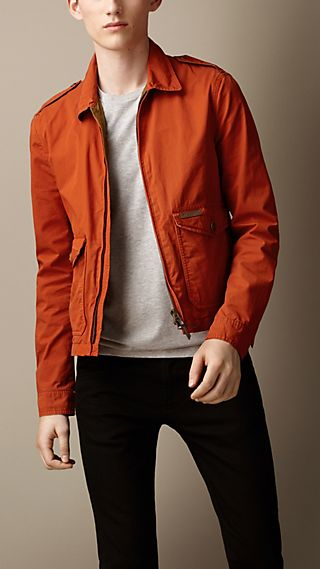 Cotton Twill Blouson