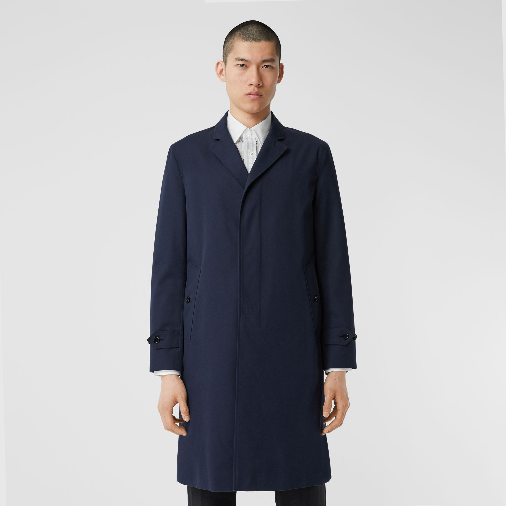 Cotton Gabardine Car Coat - Men | Burberry - gallery image 5