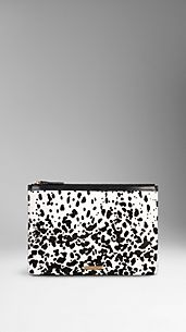 Animal Print Document Holder