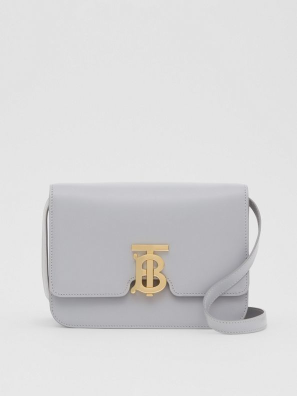 Small Leather TB Bag in Heather Melange