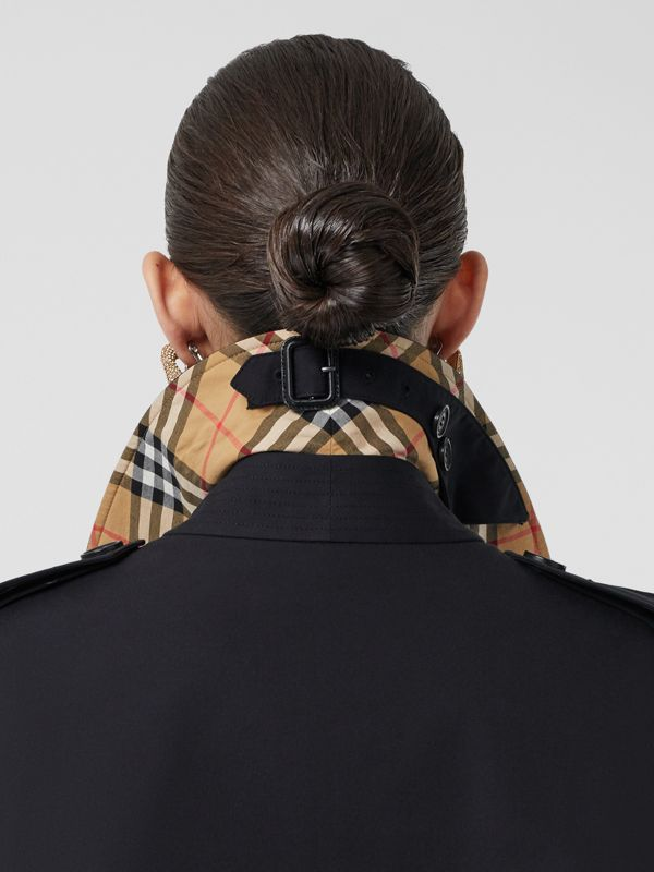 The Kensington 長版 Heritage 系列風衣 (午夜色) | Burberry - cell image 3