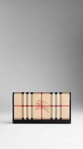 Haymarket Check Wallet