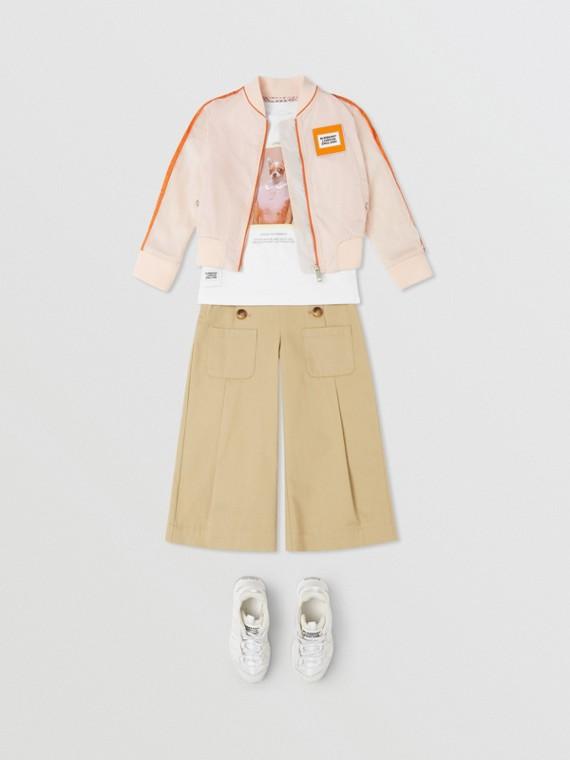 Unicorn Print Bomber Jacket