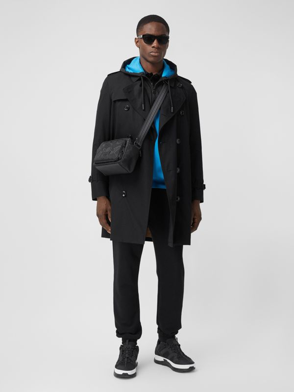 Trench coat Heritage Chelsea de longitud media (Negro) - Hombre | Burberry - cell image 2