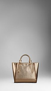 Sac tote medium en cuir London avec zip
