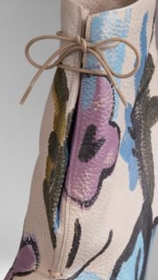 简单手绘鞋垫图案