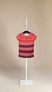 Block Stripe Cotton T-Shirt