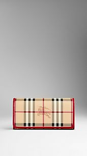 Cartera continental de checks Haymarket