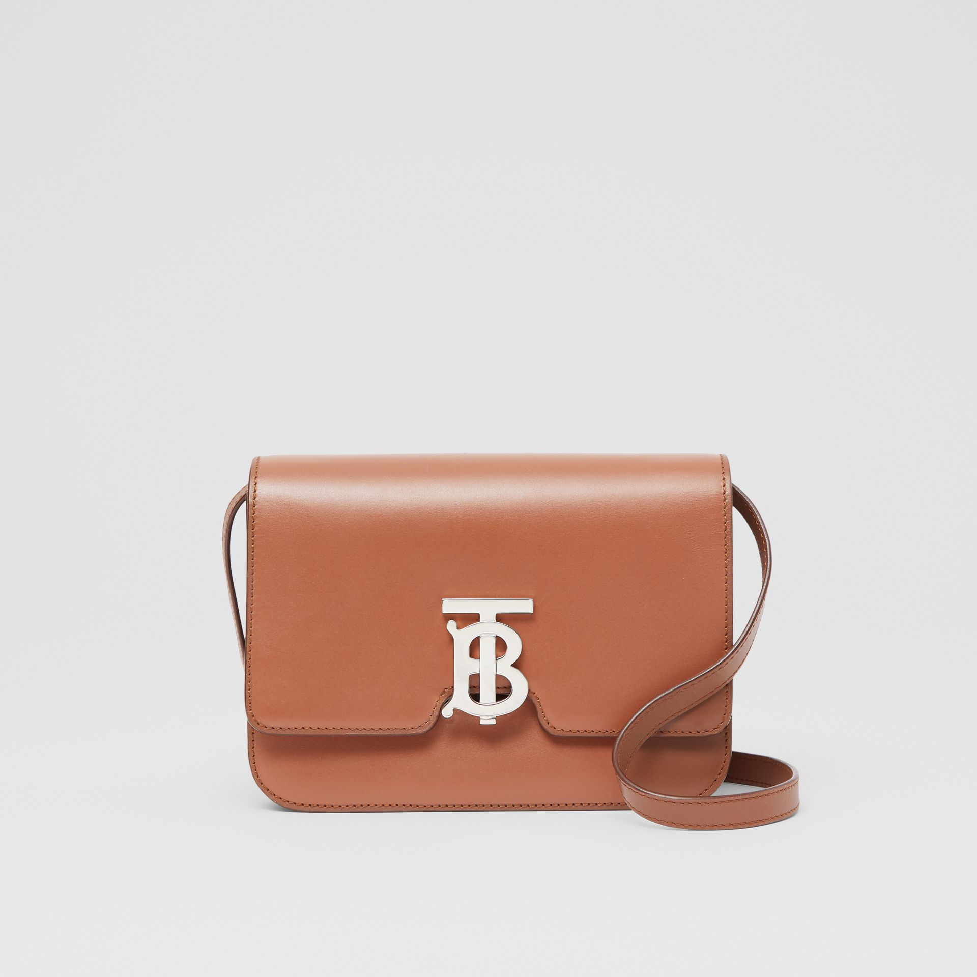 Small Leather TB Bag in Malt Brown - Women | Burberry - gallery image 0