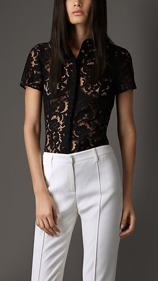 Fitted Lace Shirt