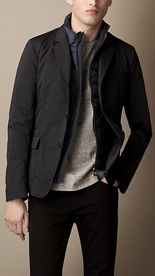 Blazer with Removable Gilet