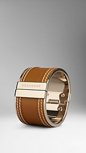 Grainy Leather Cuff