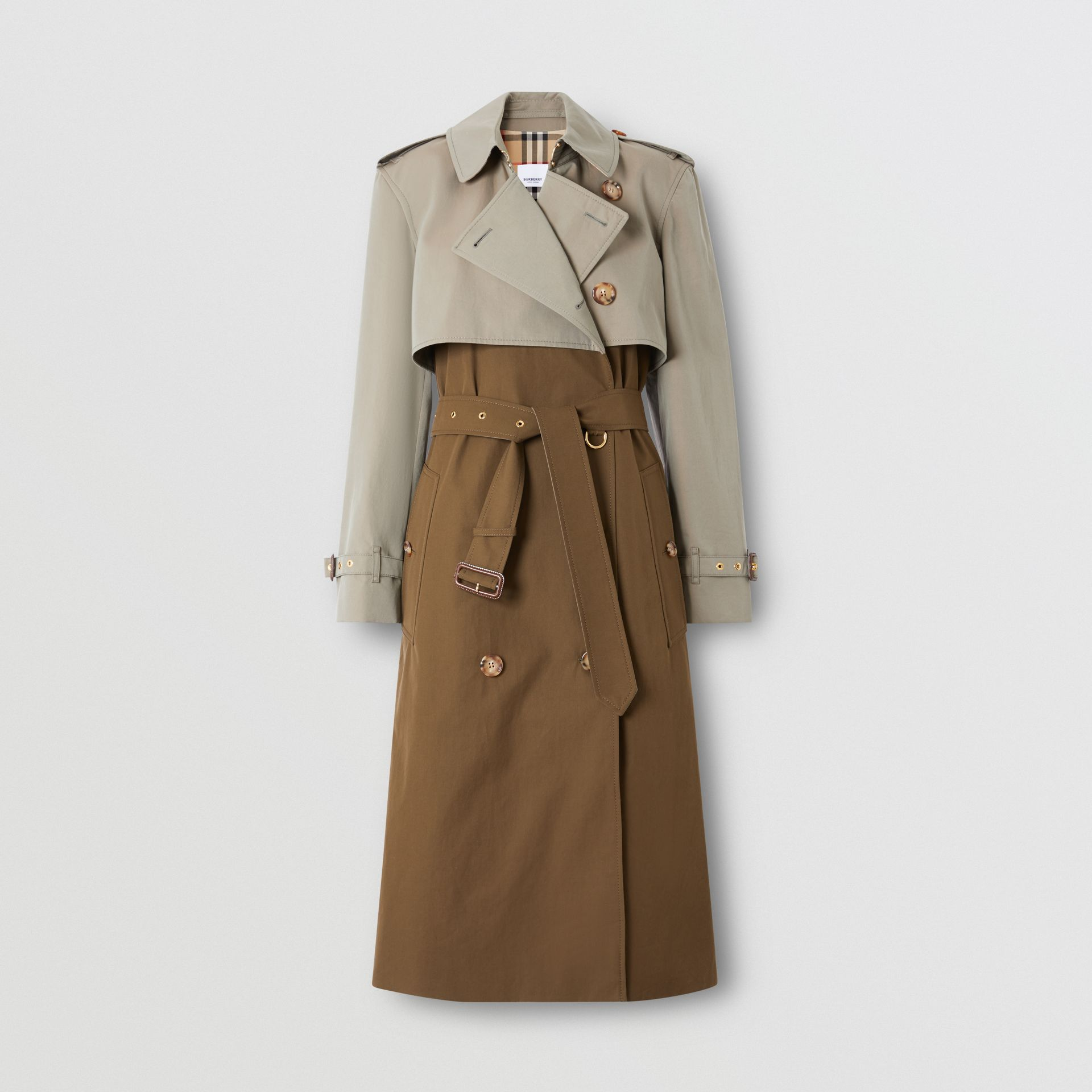 Two-tone Reconstructed Trench Coat - Women | Burberry - gallery image 0