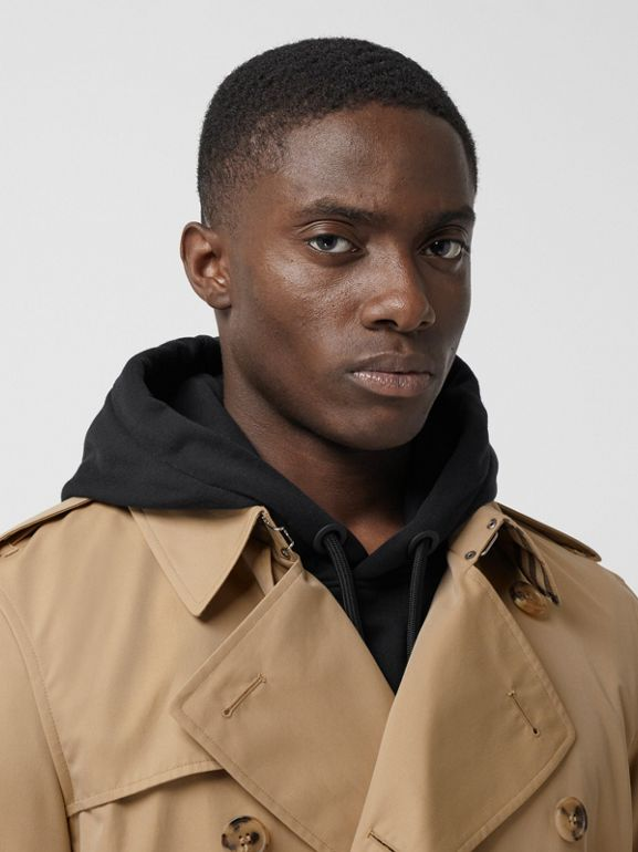 The Short Wimbledon Trench Coat in Honey - Men | Burberry - cell image 1