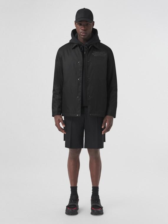 Location Print ECONYL® Jacket in Black