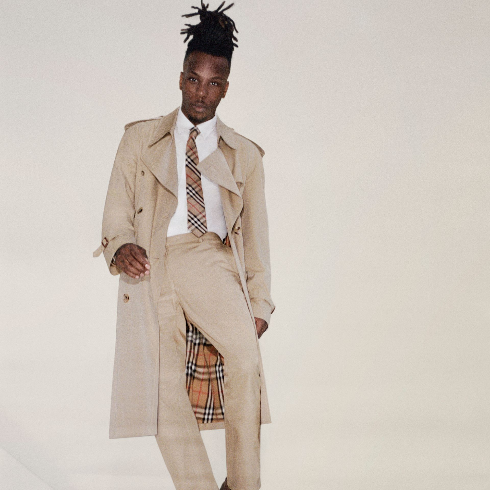 The Westminster Heritage Trench Coat in Honey - Men | Burberry - gallery image 10