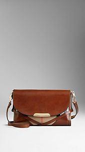 Small Bridle House Check Crossbody Bag