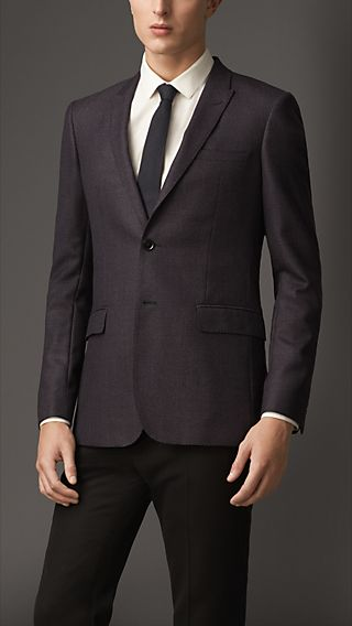Modern Fit Virgin Wool Jacket