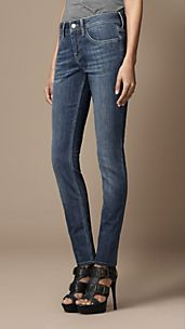 Kensington Stonewash Slim Fit Jeans