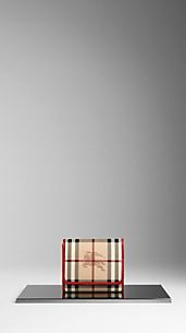 Cartera plegable de checks Haymarket
