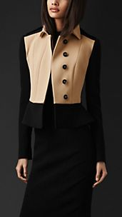 Tailored Peplum Jacket