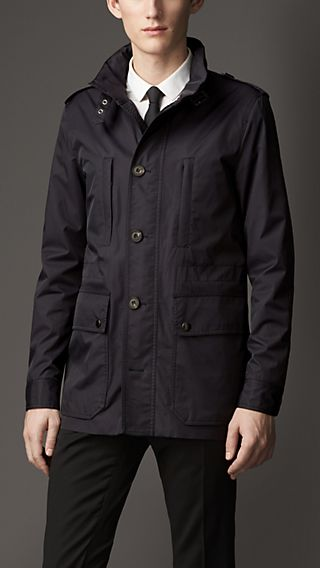 Technical Cotton Field Jacket