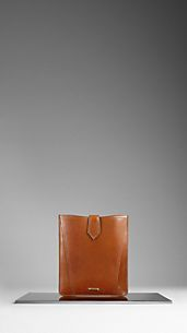 Bridle Leather iPad Case